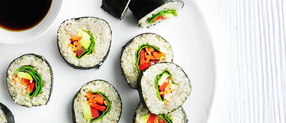 Vegan Quinoa Sushi Recipe