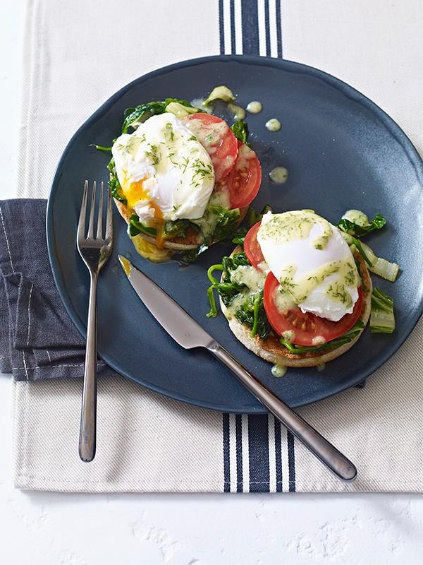 Summer Eggs Florentine Recipe