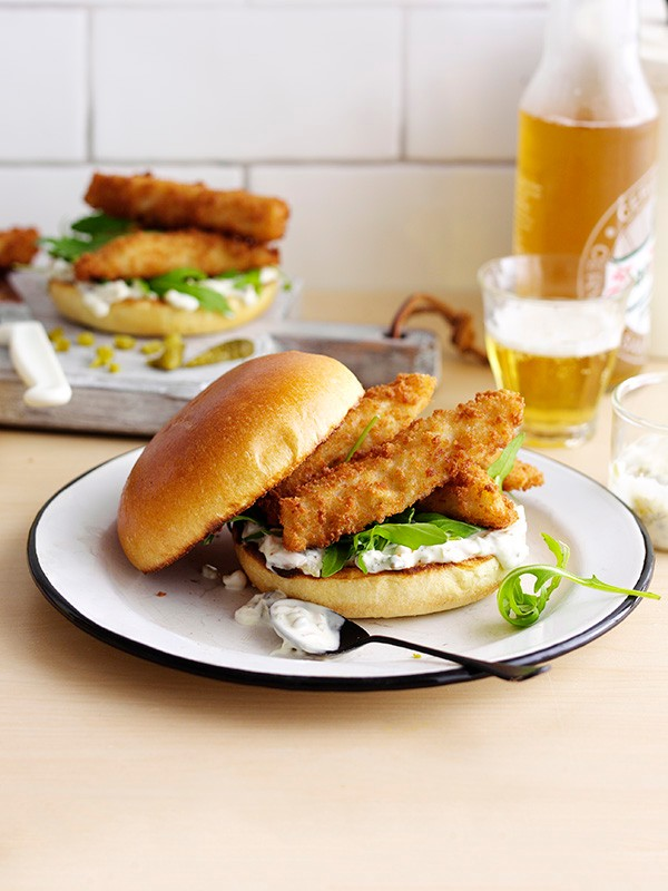 Fish Finger Sandwich Recipe
