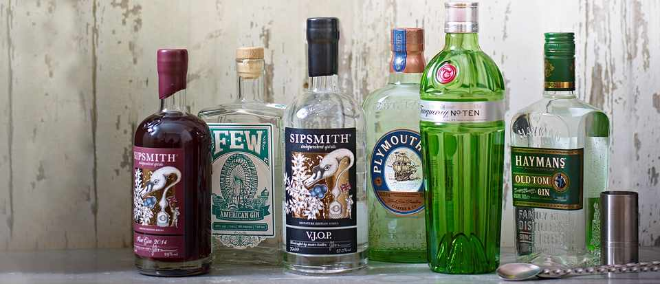 Top 32 British gins
