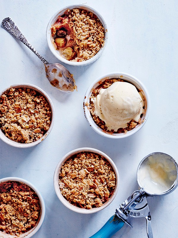 Gooseberry Crumble Recipe With Cinnamon