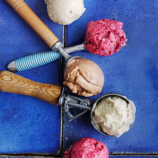 No-churn banana ice cream