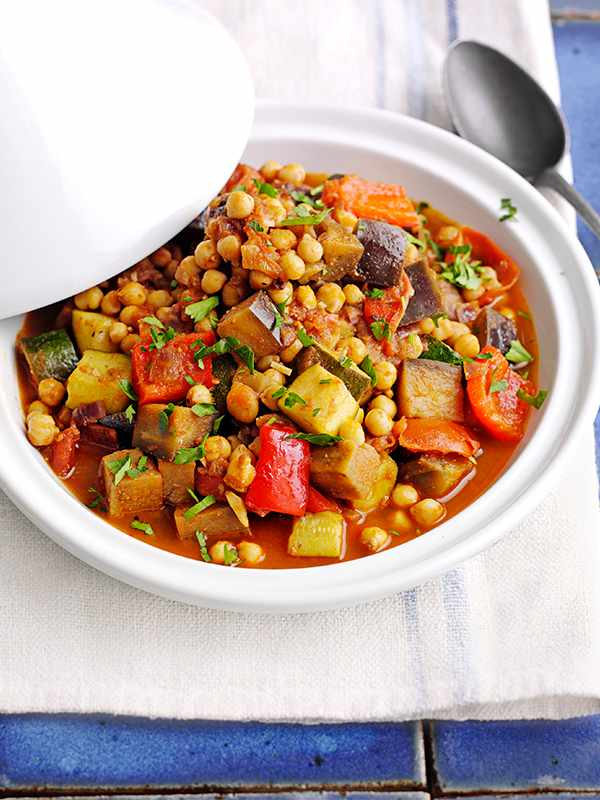 Moroccan tagine recipe with veg and chickpeas olive magazine moroccan tagine recipe with veg and chickpeas forumfinder Choice Image