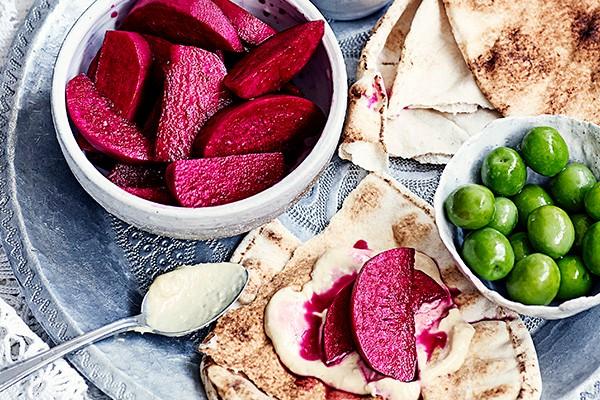 Pink Pickled Turnips Recipe