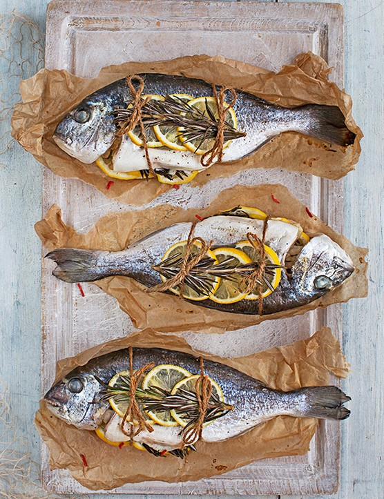 Sea Bream Recipe Cooked En Papillote