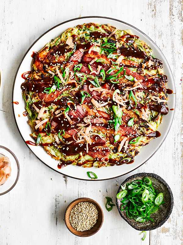 Easy Okonomiyaki Recipe