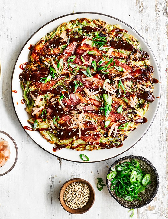 Easy Okonomiyaki Recipe