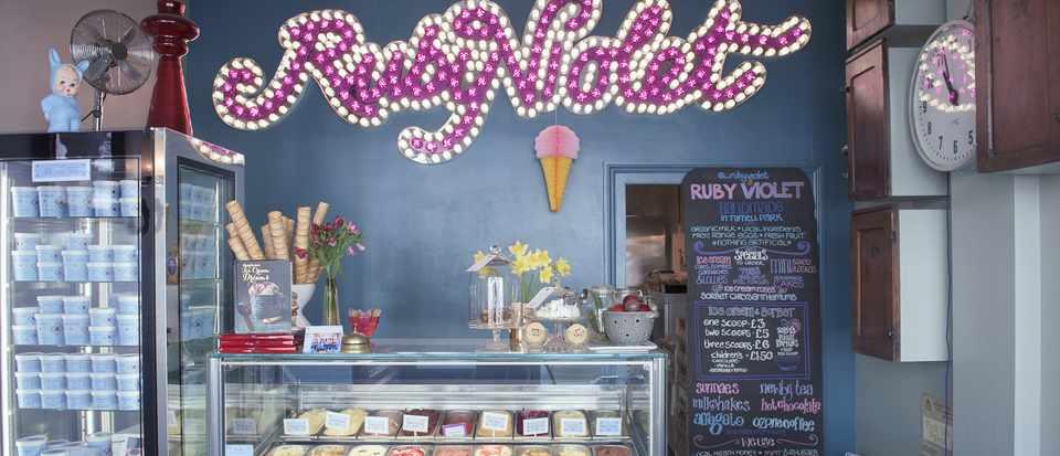 Best Artisan Ice Cream Parlours in The UK