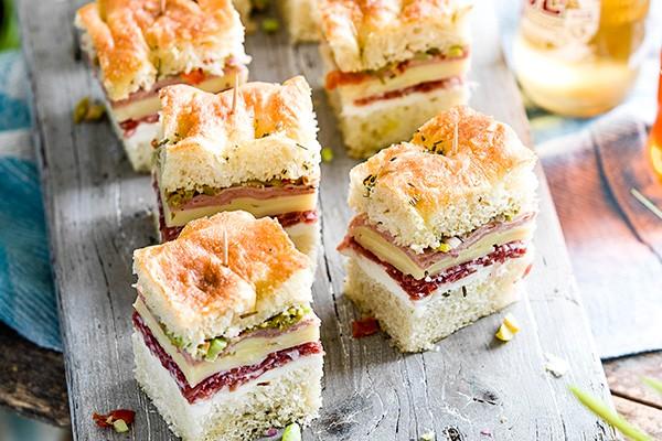 Muffuletta Sandwich Recipe with Olive Salad