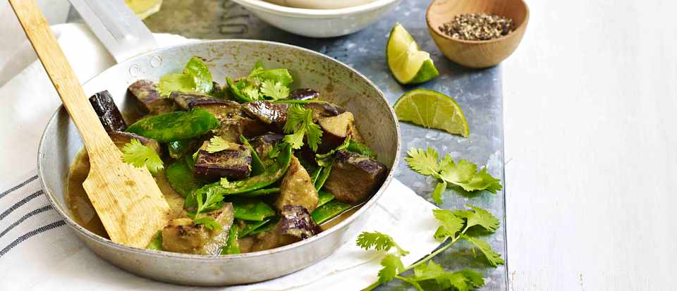 Aubergine Thai Jungle Vegetable Curry Recipe