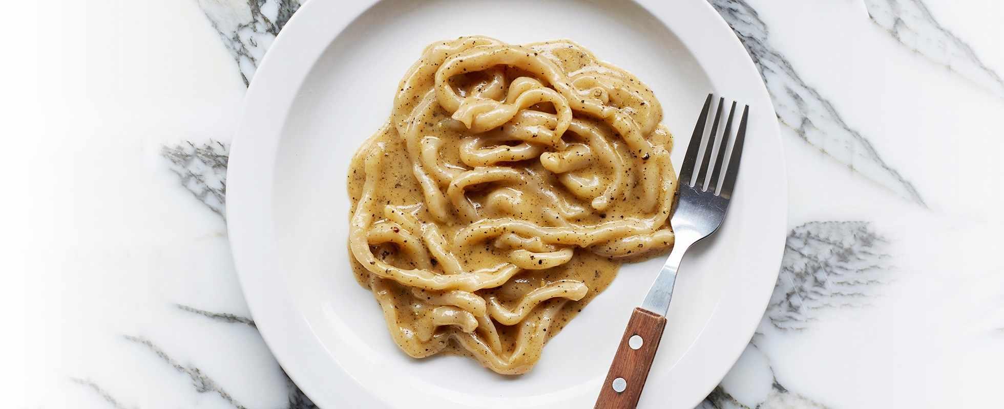 Padella Pasta Pici Cacio e Pepe Recipe