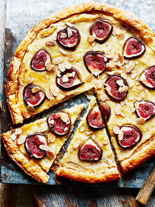 Fig Tart Recipe With Curd Cheese