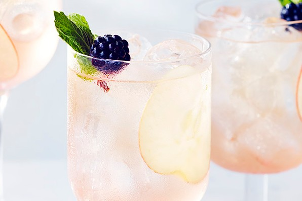 Blackberry Gin Cocktail Recipe with Cider