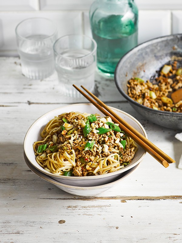 Dan Dan Noodles Recipe