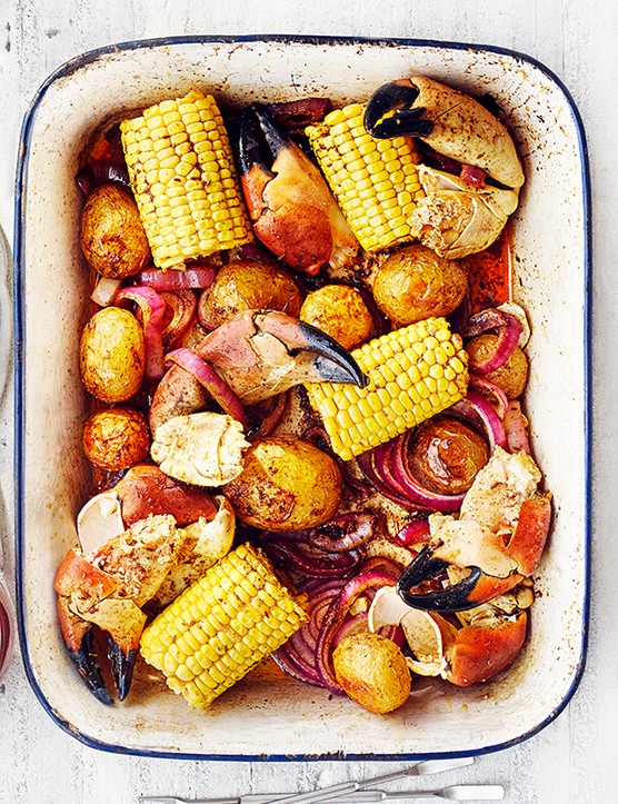 Crab Bake Recipe
