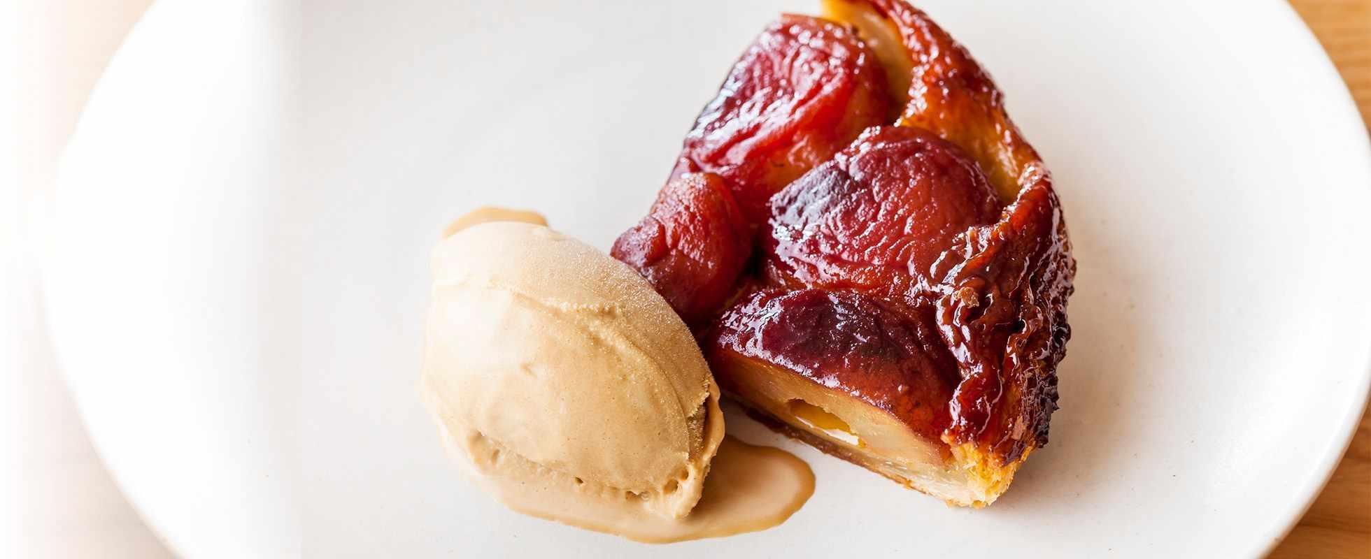 Spiced apple tart tatin recipe