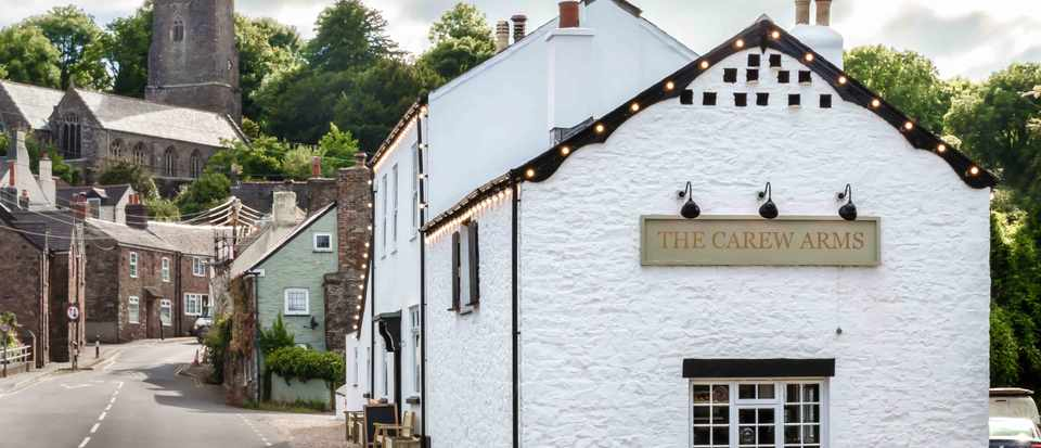 The Carew Arms, Antony, Cornwall: Restaurant Review