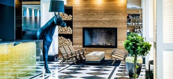Lobby at Hotel Lilla Roberts Helsinki