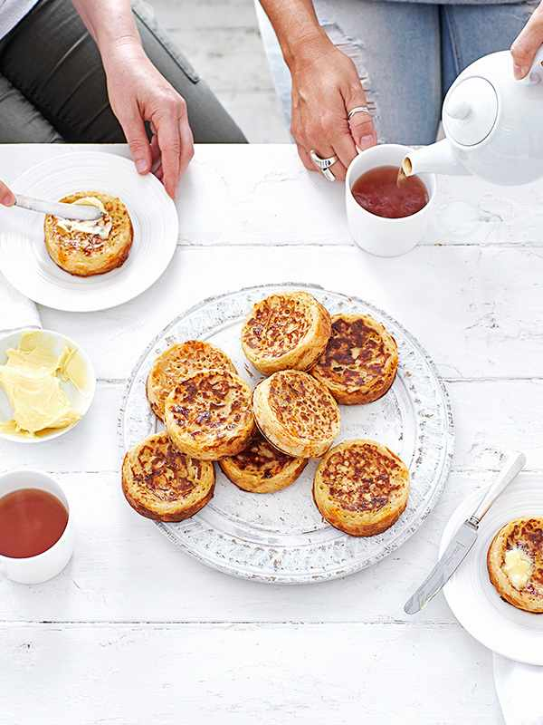 Crumpet Recipe with Cheese