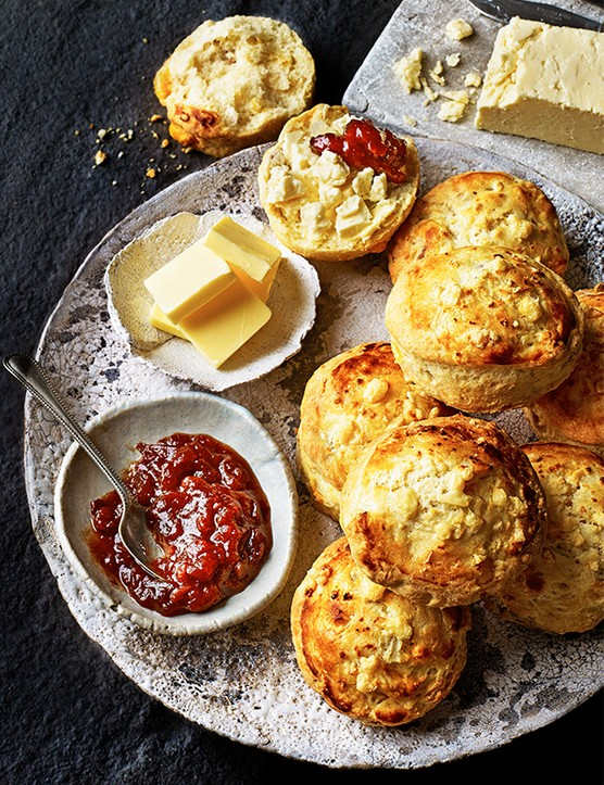 Cheshire Cheese Scone Recipe With Walnuts
