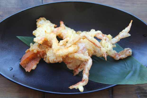 Soft-shell crab tempura