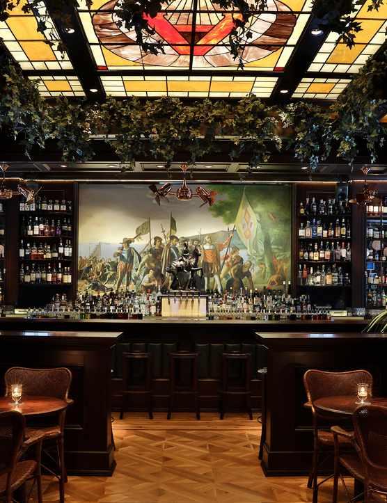 Blacktail bar interior