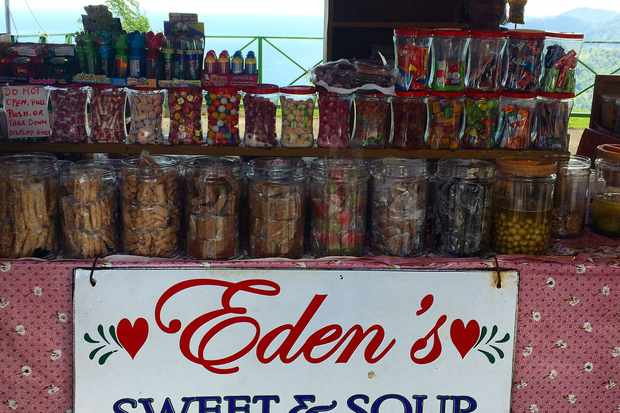 Eden's Sweet & Sour Hot Spot, Maracas Bay, Trinidad