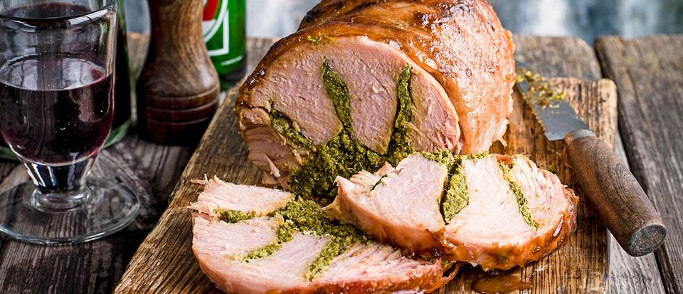 Maryland Stuffed Ham Recipe Olivemagazine