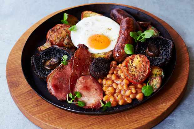 Jamie's Full Monty Breakfast