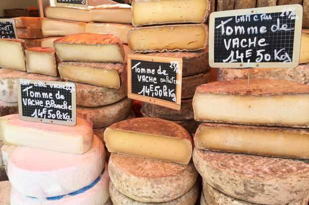 cheese Chamonix market