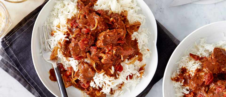 Caribbean Curry With Lamb