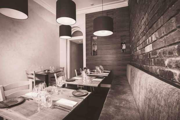 Lovage Restaurant interior
