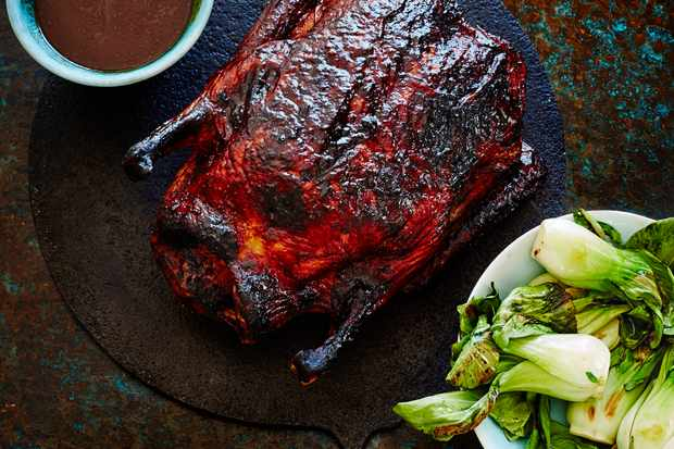 Slow Roast Duck With Sweet Tamarind Recipe
