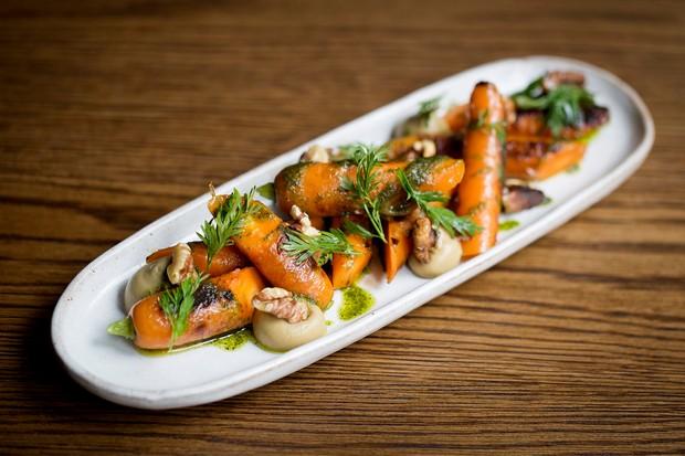 Carrots at Social Wine and Tapas Marylebone