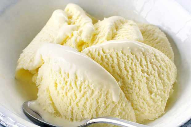 Valentine Warner's elderflower ice cream