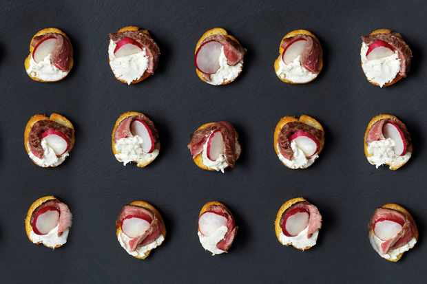 25 Easy Christmas Canapes Recipes For Christmas Party Food