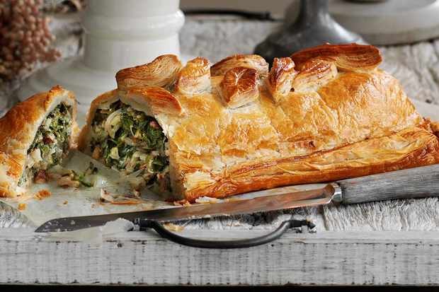 wellington is packed with big bold flavours and looks impressive but is still easy to make this makes a great main for vegetarians at christmas - Vegetarian Christmas Entree