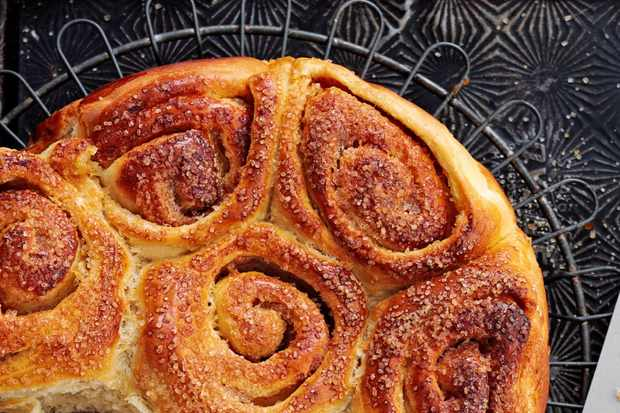 toffee and cinamon buns