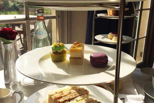 Afternoon tea at Royal Crescent Hotel, Bath