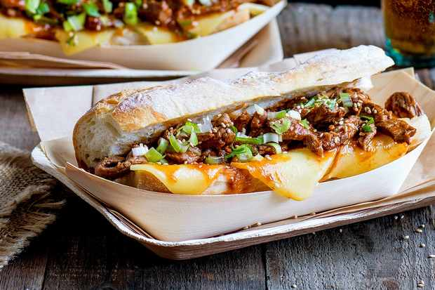 Best ever asian street food recipes olive magazine olive magazine bulgogi cheese steak sandwich forumfinder Image collections