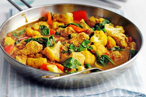 Image result for balanced meal curry