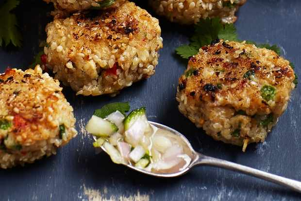 40 easy starter recipes for dinner party starters olive magazine thai fishcakes make brilliant party food or a dinner party starter as you can fry them in advance and keep warm in the oven the easy cucumber pickle adds forumfinder Image collections