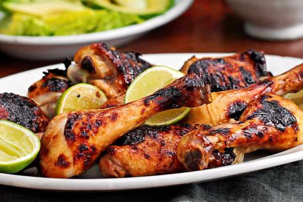 Mojito grilled chicken