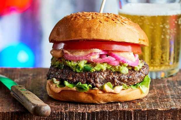 Ultimate grillable vegan burgers