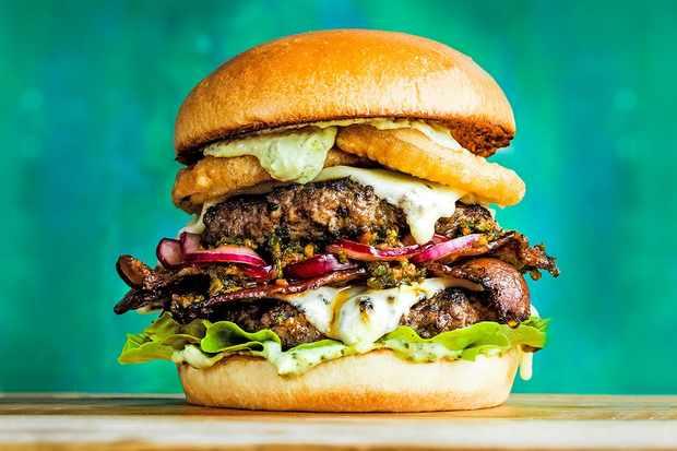 The Brazil grill burger