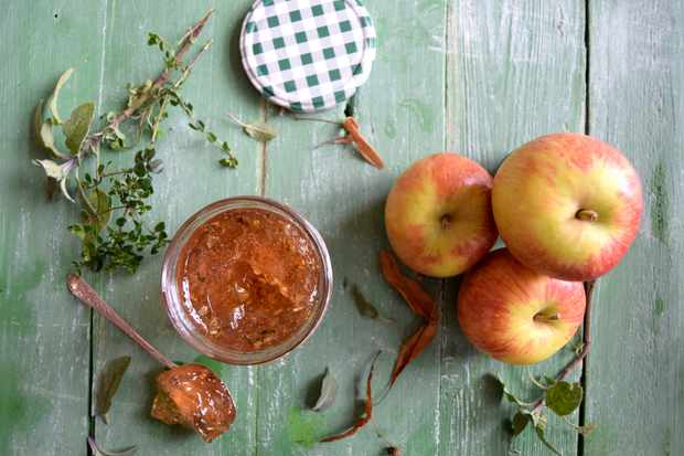 Vale house kitchen: jams and preserves