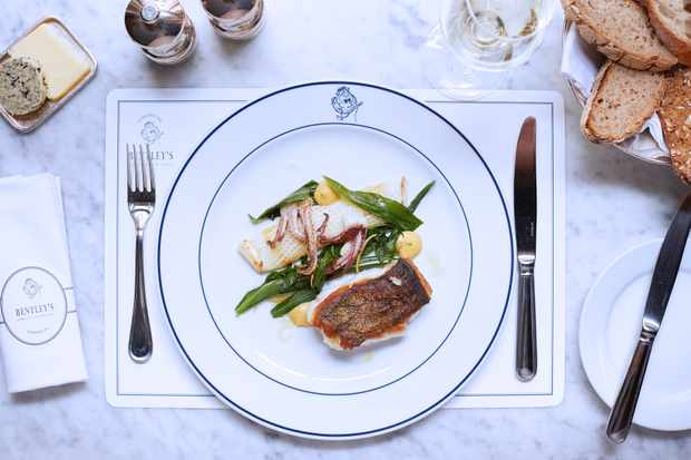 Bentley's seafood grill, london