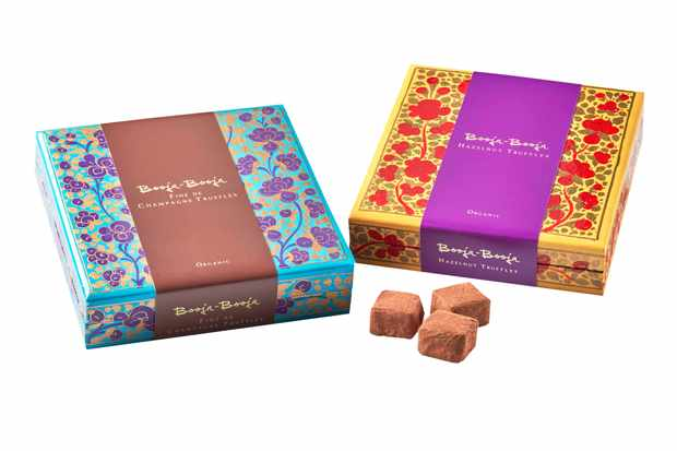Booja Booja Artist's Collection Boxes with truffles