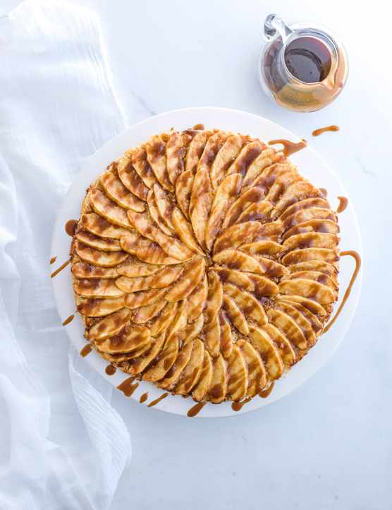 Salted Butterscotch Apple Tart Recipe