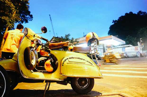 Foodie tour by Vespa